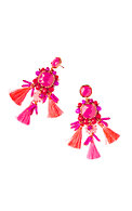 Island Exotic Tassel Earrings