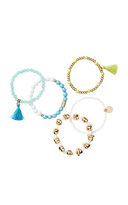 Surf Gypsea Stretch Bracelet Set