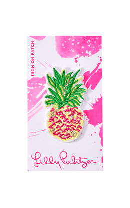 Iron On Pineapple Patch