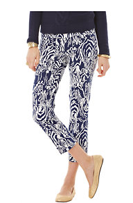 Printed Luxury Capri