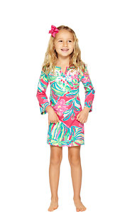 Girls Shel Tunic Dress