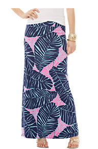 Marnie Maxi Column Skirt