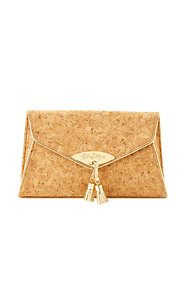 Everglade Cork Envelope Clutch Bag