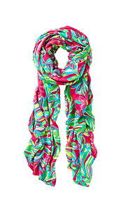 Lillian Oversized Scarf - Jungle Tumble