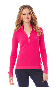 Sally Half Zip Pullover Sweater