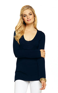 Roberts Crochet Tunic Sweater
