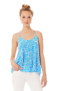 Maisy Printed Racerback Camisole