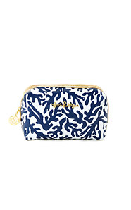 Palm Beach Large Printed Cosmetic Case