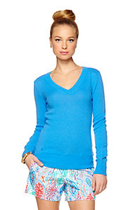 Kelley V-Neck Cashmere Sweater