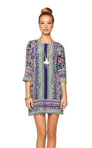 Rylee Silk Shift Dress