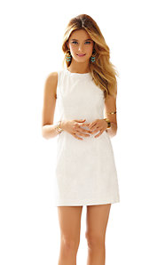 Mila Lace Detail Shift Dress