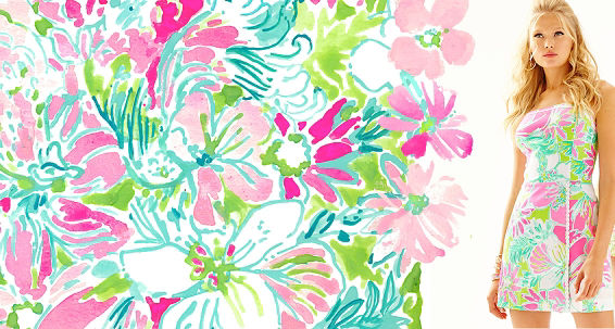 Cluck lilly pulitzer