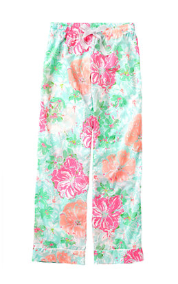 Printed Pajama Pant- Beach Walk