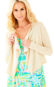 Colony Open Drape Front Cardigan