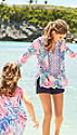 Multi Gypset Paradise Dinner Tunic