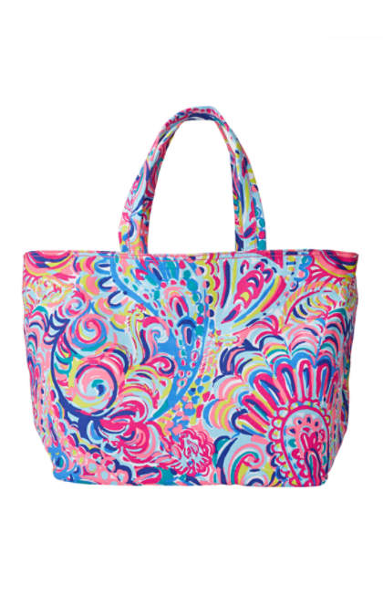 palm beach tote - psychedelic sushine | 23624999os7 | lilly pulitzer