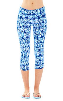 "UPF 50+ Luxletic 21"" Weekender Cropped Pant in Get Trunky"