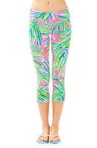 "<c:out value=""UPF 50+ Luxletic 21"" Weekender Cropped Pant in Royal Lime"" escapeXml=""false""/>"