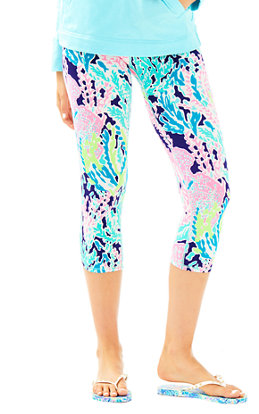 "UPF 50+ Luxletic 21"" Weekender Cropped Pant in Lets Cha Cha"