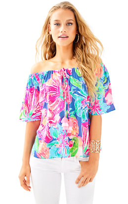 Sain Off The Shoulder Top