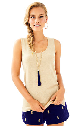 Elizabella Lurex Sweater Tank