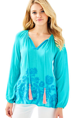 Willa Embroidered Top
