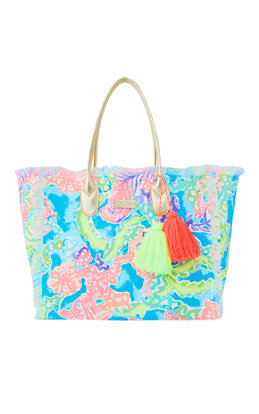 Gypset Frayed Beach Tote Bag