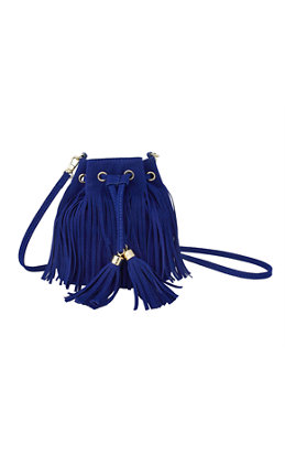 Sunset Safari Fringe Crossbody Bag