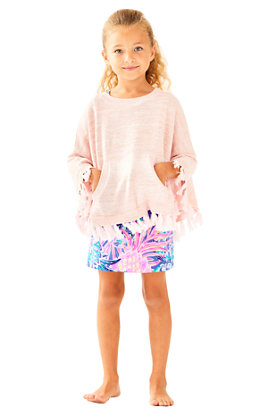 Girls Hani Poncho Sweater