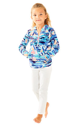 Girls Little Hooded Skipper Popover