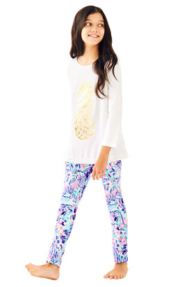 UPF 50+ Luxletic Girls Mini Weekender Legging