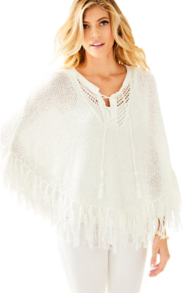 Val Poncho Sweater