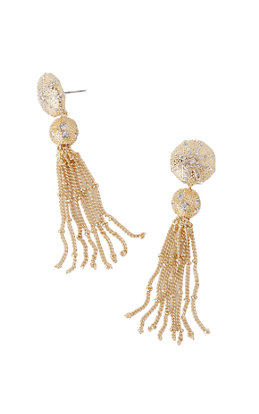 Sand Dune Tassel Earrings