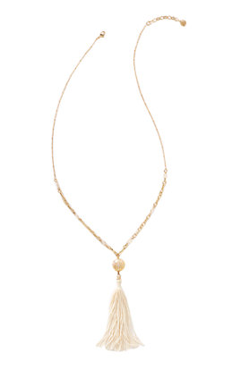 Sand Dune Tassel Necklace