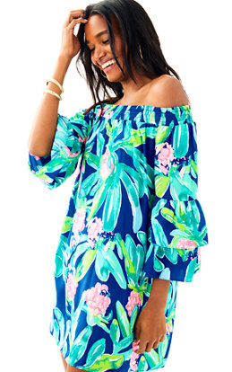 Tobyn  Off the Shoulder Tunic Dress