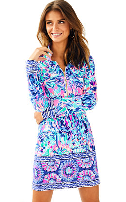 UPF 50+ Skipper Printed Popover Dress