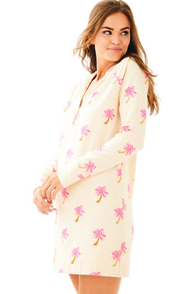 UPF 50+ Hooded Skipper Popover Dress