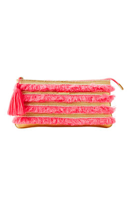 Fiji Fringe Beach Clutch