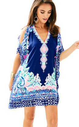 Atlin Silk Caftan