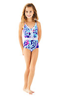 UPF 50+ Girls Mals Swimsuit