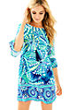Agate Green Roe Your Boat Engineered Dress