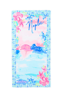 Destination Beach Towel - Naples