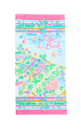 Destination Beach Towel - Palm Beach