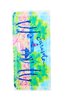 Destination Beach Towel - Sarasota