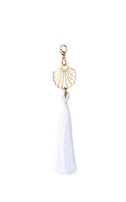 Removable Shell Zipper Pull With Tassel