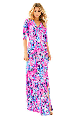 Marvista Wrap Maxi Dress