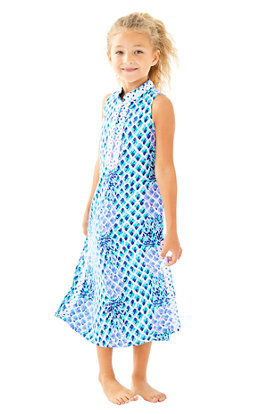 Girls Mini Jane Maxi Dress