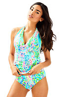 Bliss Halter Tankini Top