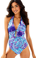 Lanai Halter One Piece Suit
