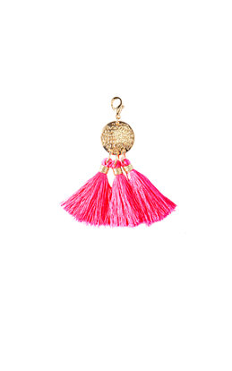 Removable Triple Tassel Disc Zipper Pull
